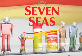 Seven Seas Shield designed with 3D ANIMATION and 3D MODELING and RIG and TEXTURING for Seven Seas Picture 1