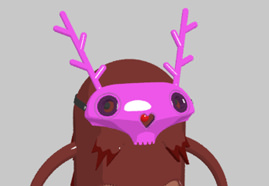 Christmas Critters designed with 3D ANIMATION and 3D MODELING and RIG and RENDER and TEXTURING for E4 Picture 3