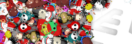 Christmas Critters designed with 3D ANIMATION and 3D MODELING and RIG and RENDER and TEXTURING for E4 Picture 4